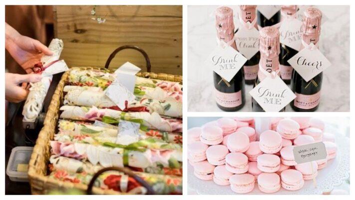 ธีมงานแต่งงานสีชมพู
